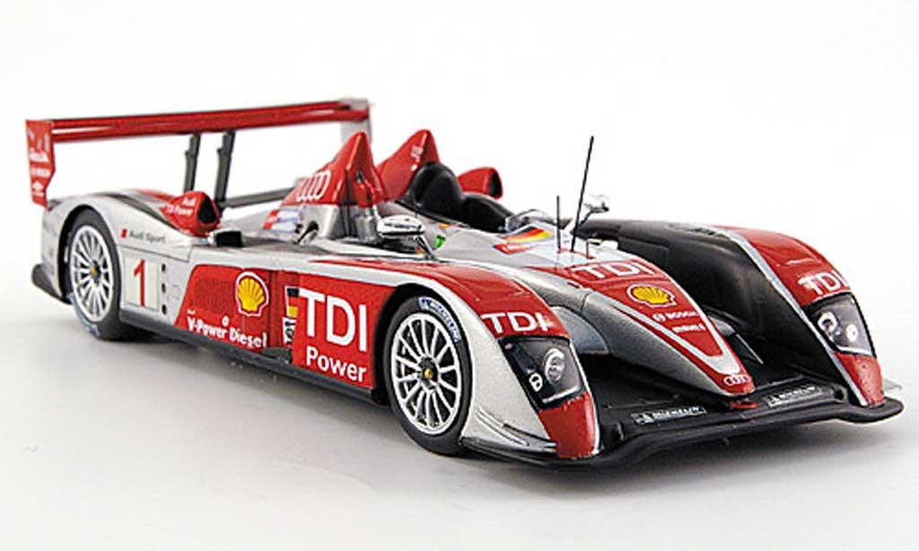 Audi R10 2008 1/43 Spark TDI No.1Sport 24h Le Mans Biela/ Pirro/ Werner miniature