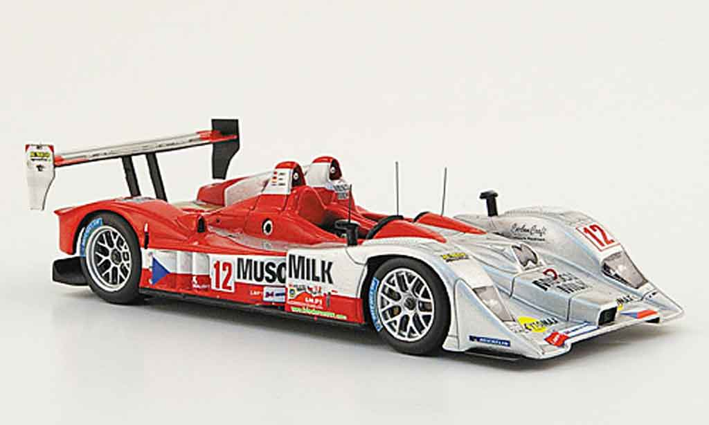Lola B07 1/43 Spark 17 Judd No.12 Muscle Milk 24h Le Mans 2008 miniature