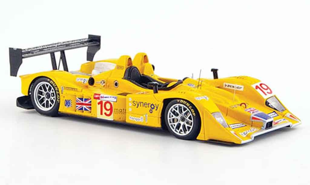 Lola B06 1/43 Spark 10 AER No.19 Chamberlain Synergy 24h Le Mans 2008 miniature