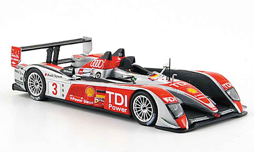 audi r10 2008 miniature no 3 sport 24h le mans minichamps 1 43 voiture. Black Bedroom Furniture Sets. Home Design Ideas