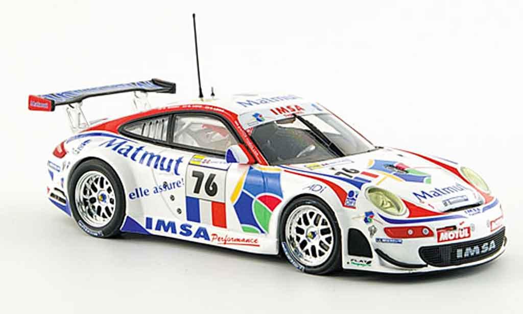 Porsche 997 GT3 RSR 1/43 Minichamps 12 Stunden Sebring miniature