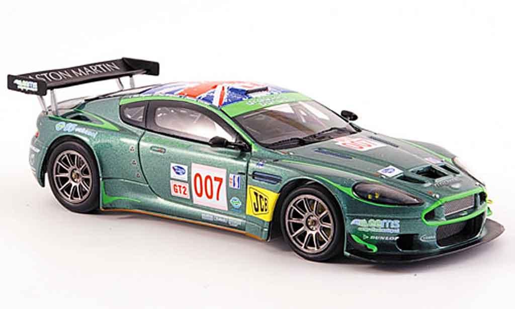 Aston Martin DBRS9 1/43 Minichamps barwell motorsport 12 stunden sebring 2008 diecast