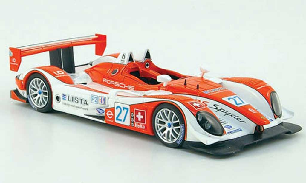 Porsche RS Spyder 1/43 Minichamps No.27 Horag Racing ALMS 12h Sebring 2008 miniature