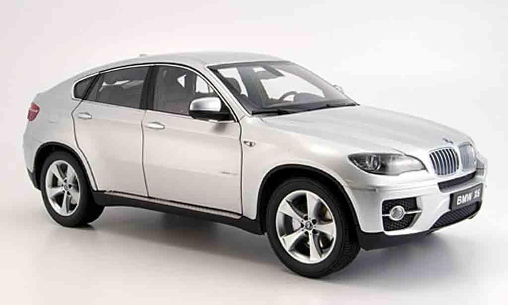 Bmw X6 E71 1/18 Kyosho xdrive50i grise miniature