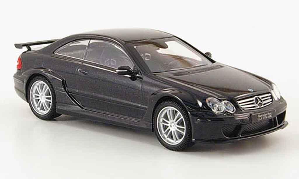 Mercedes Classe CLK DTM 1/43 Kyosho AMG Coupe noire miniature