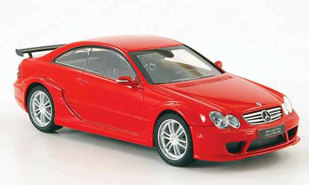 Mercedes Classe CL DTM 1/43 Kyosho K DTM AMG Coupe red diecast model cars