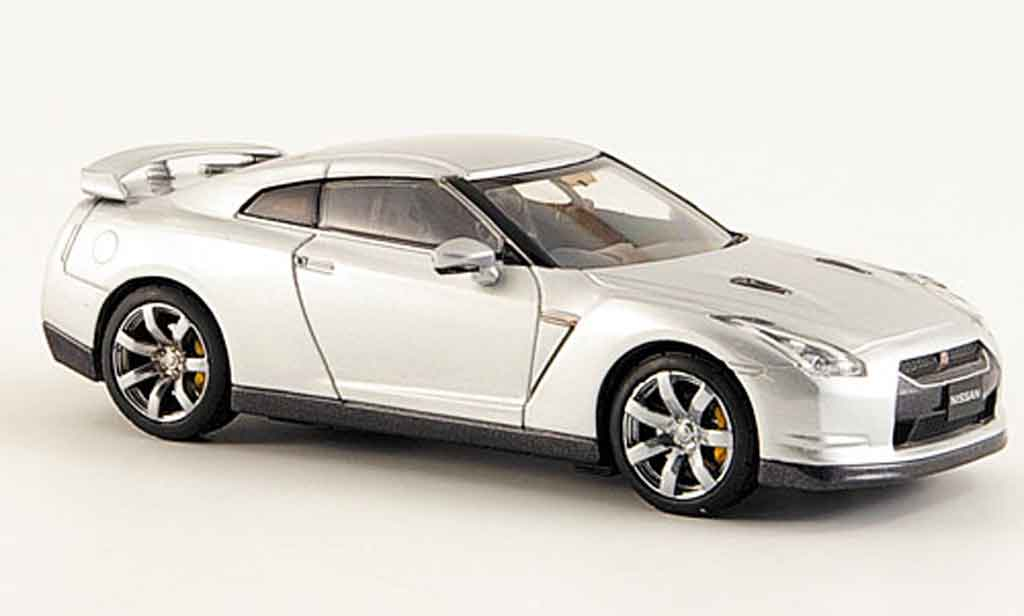 nissan skyline r35 gtr grau 2008 kyosho modellauto 1 43. Black Bedroom Furniture Sets. Home Design Ideas