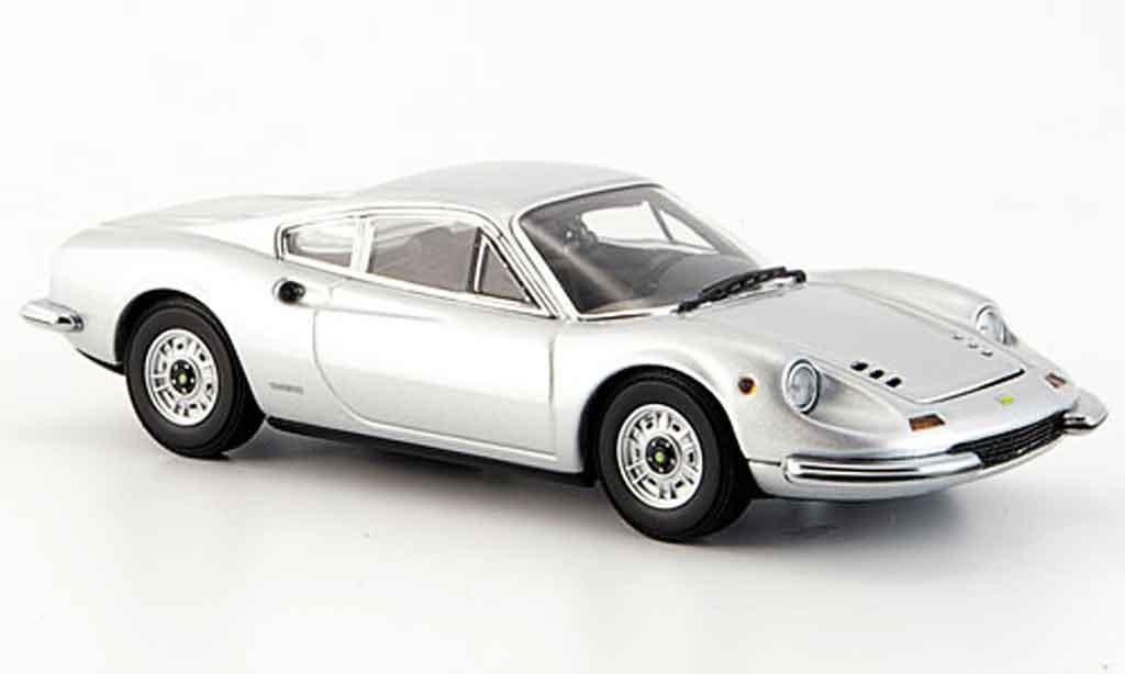 Ferrari 246 1/43 Kyosho 246 gt dino grise metallisee miniature