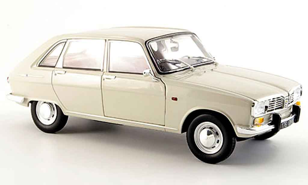 renault 16 miniature grise 1965 norev 1 18 voiture. Black Bedroom Furniture Sets. Home Design Ideas