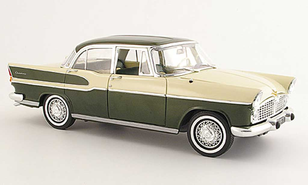 simca chambord green beige 1958 norev diecast model car 1 18 buy sell diecast car on. Black Bedroom Furniture Sets. Home Design Ideas