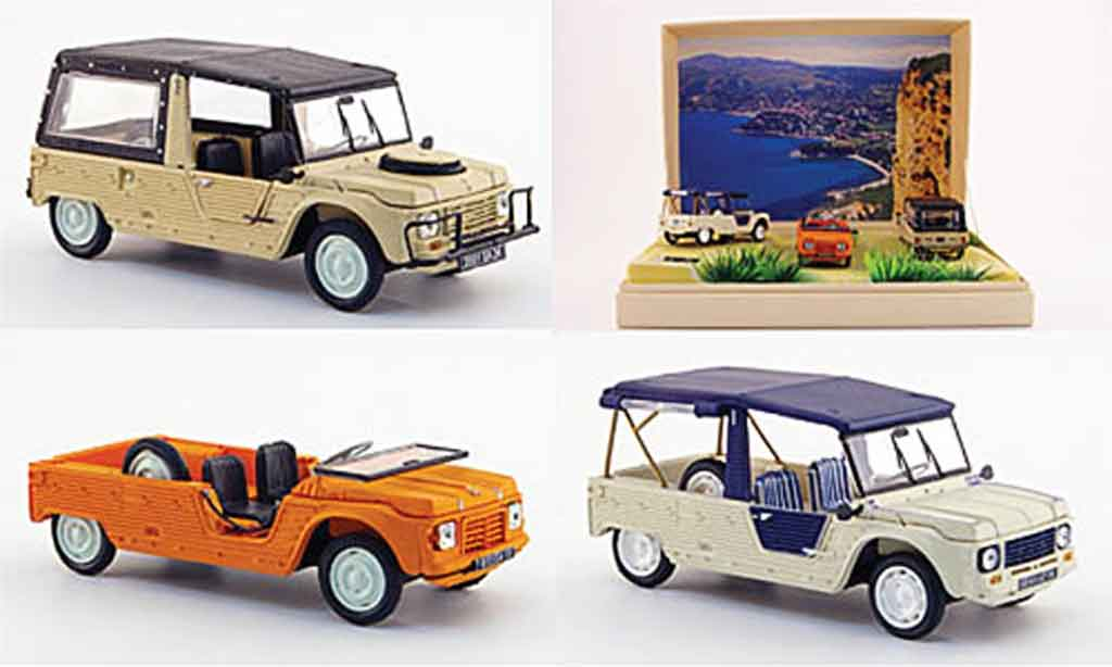 Citroen Mehari 1/43 Norev 3er set 40 jahre diecast model cars