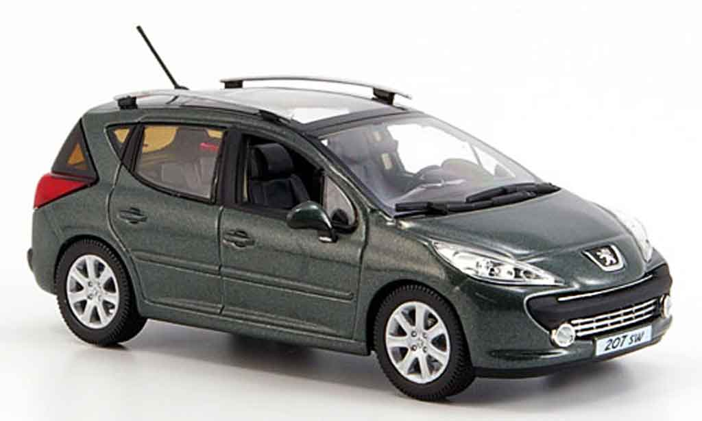 peugeot 207 sw gray 2008 norev diecast model car 1 43. Black Bedroom Furniture Sets. Home Design Ideas