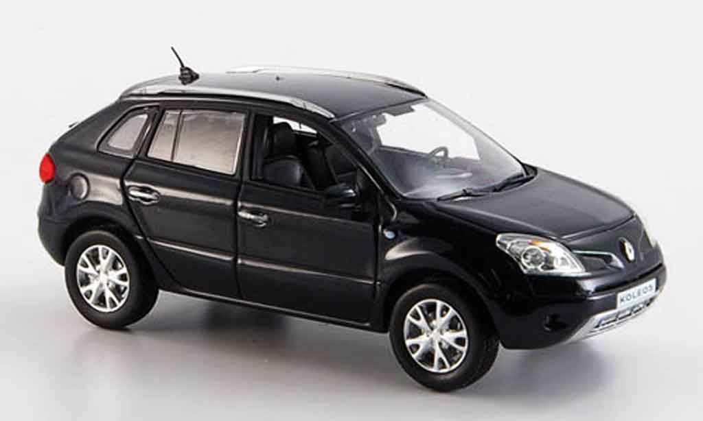 renault koleos miniature noire 2008 norev 1 43 voiture. Black Bedroom Furniture Sets. Home Design Ideas