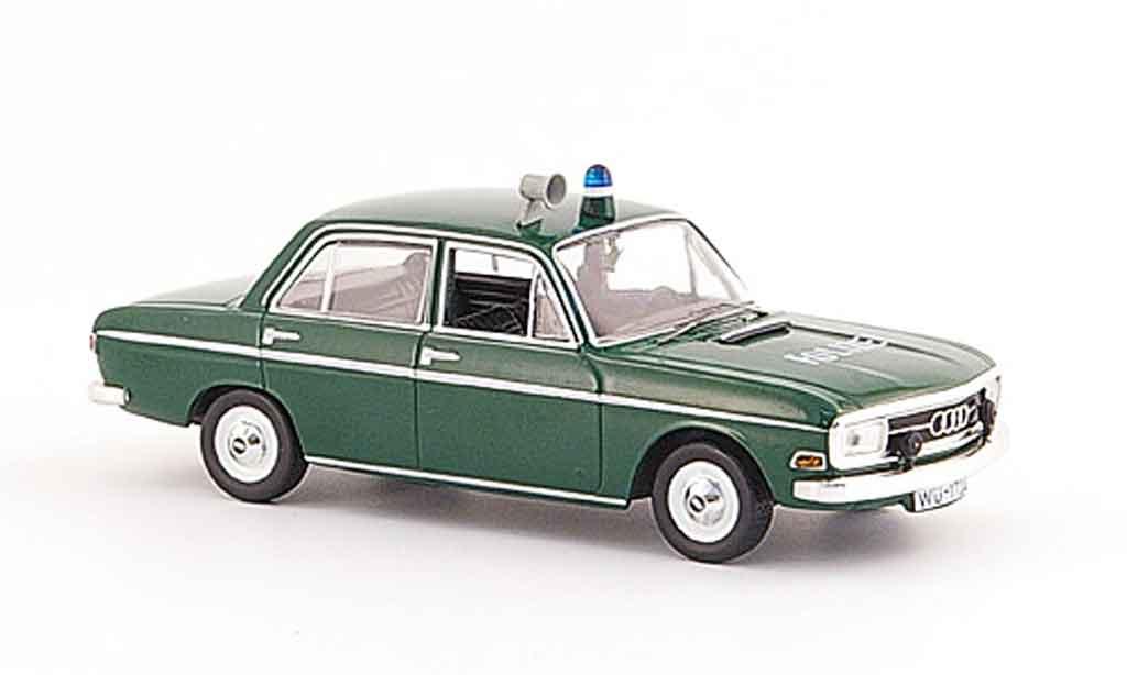 audi 72 police deutschland 1965 norev modellauto 1 43. Black Bedroom Furniture Sets. Home Design Ideas