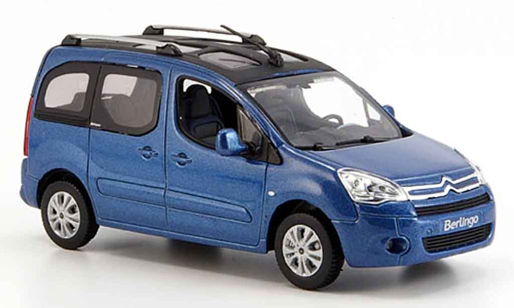 Citroen Berlingo 1/43 Norev bleu fenster 2008 miniature