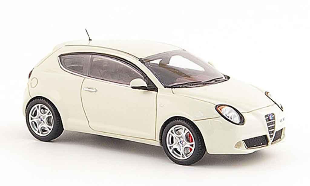 Alfa Romeo Mito 1/43 Provence Moulage white 2008 diecast