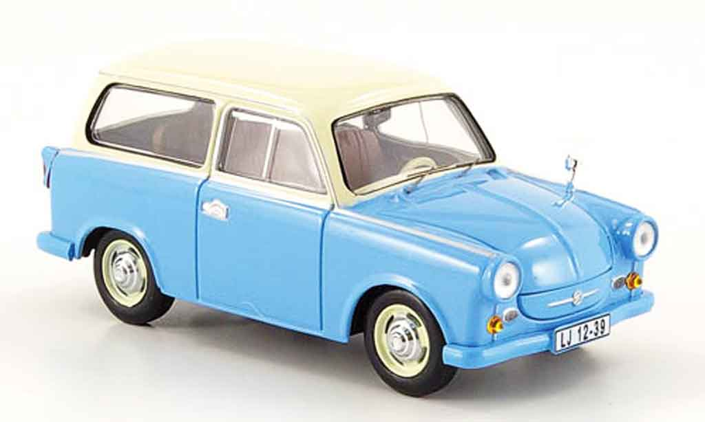 trabant p50 p 50 kombi blue beige 1959 ist models diecast. Black Bedroom Furniture Sets. Home Design Ideas