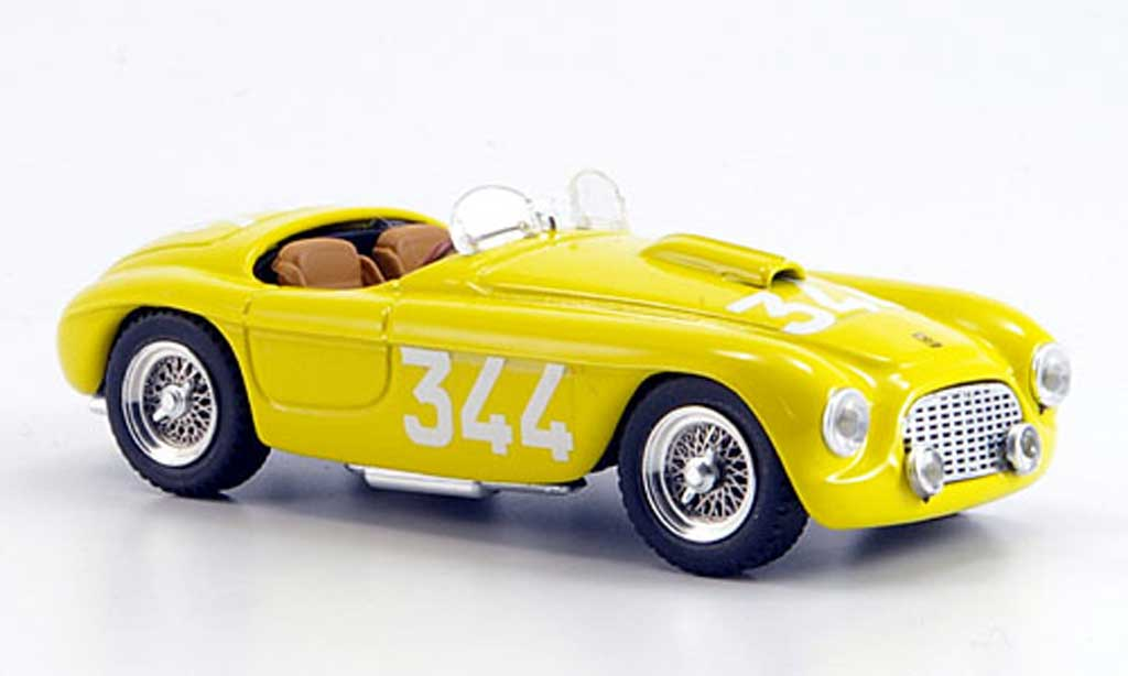 Ferrari 166 1951 1/43 Art Model Spider No.344 Mille Miglia miniature