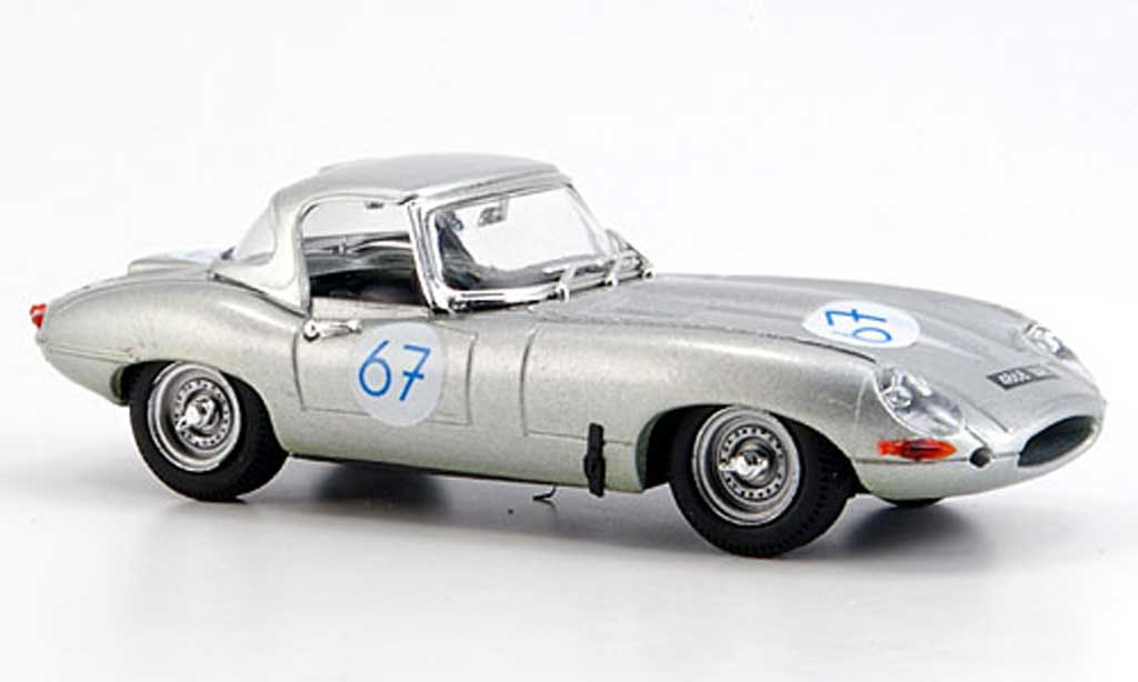 Jaguar E-Type 1963 1/43 Best 1963 E Spider Nurburgring miniature