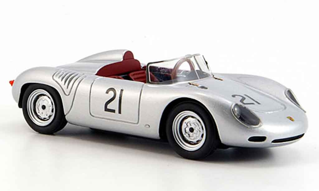 Porsche 718 1/43 Look Smart 1960 60 No.21 1000 km Nurburgring miniature