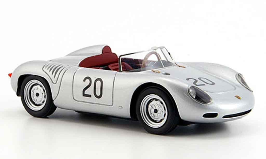 Porsche 718 1/43 Look Smart 1960 60 No.20 Moss 1000 km Nurburgring miniature