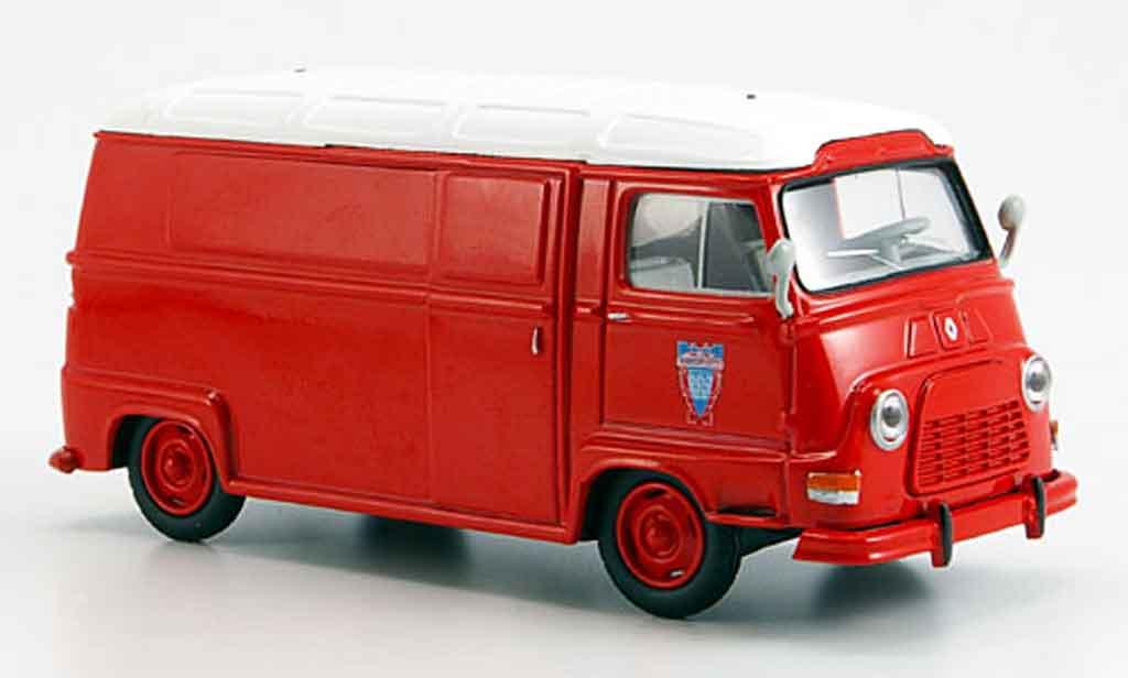Renault Estafette 1/43 Solido pompier 1962 diecast model cars