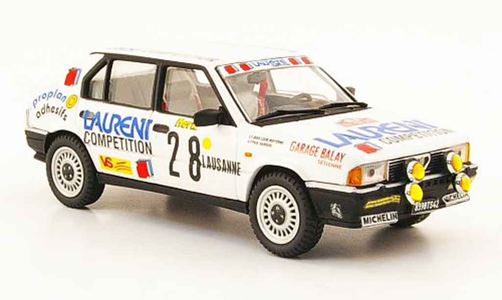 Alfa Romeo 33 1/43 Pego no.28 laurent rallye monte carlo 1988 miniature
