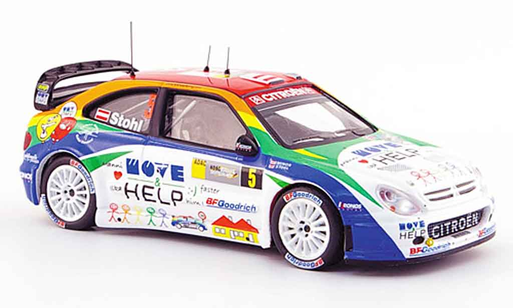 Citroen Xsara WRC 2007 1/43 IXO no.5 stohl minor rallye deutschland miniature