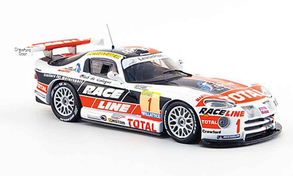 Dodge Viper GTS R 1/43 IXO No.1 Sieger 24 Std. Rennen SPA 2002 miniature