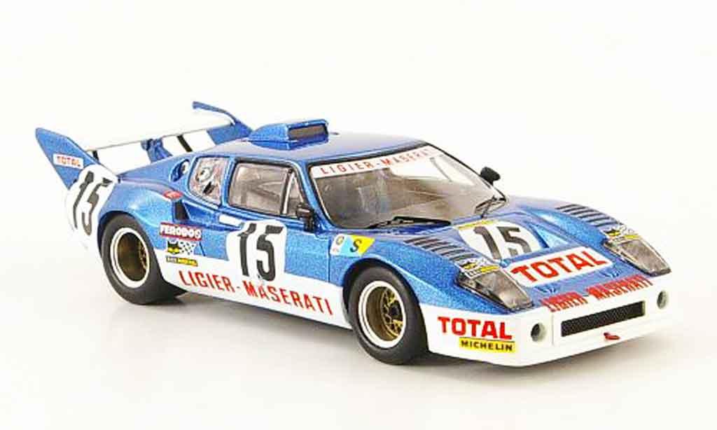 Maserati Ligier 1/43 IXO js2 no.15 laffite serpaggi 24h le mans 1974 miniature