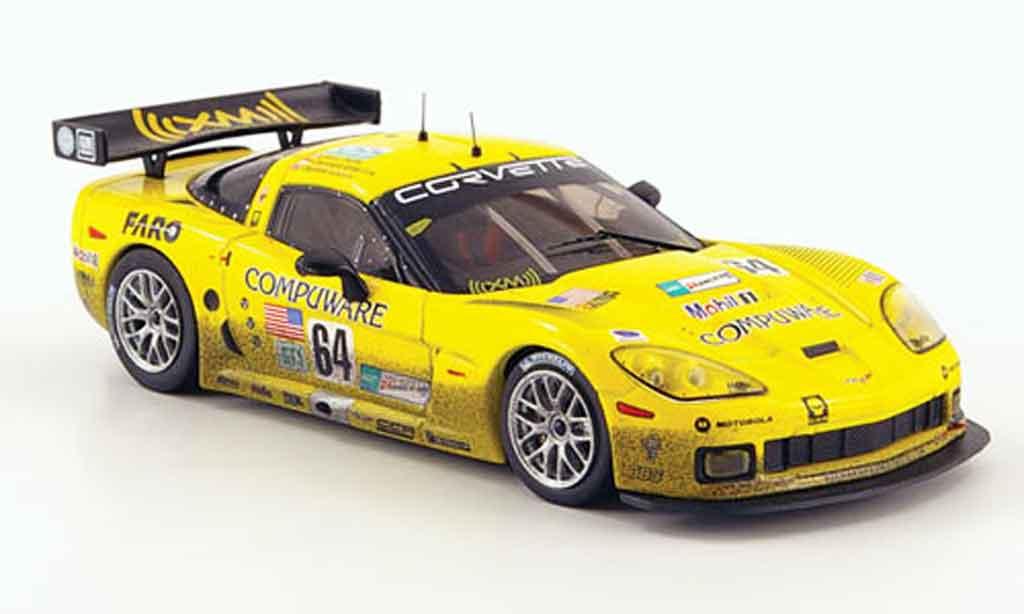 Chevrolet Corvette C6 1/43 IXO R No.64Compuware 24h Le Mans 2007 modellautos