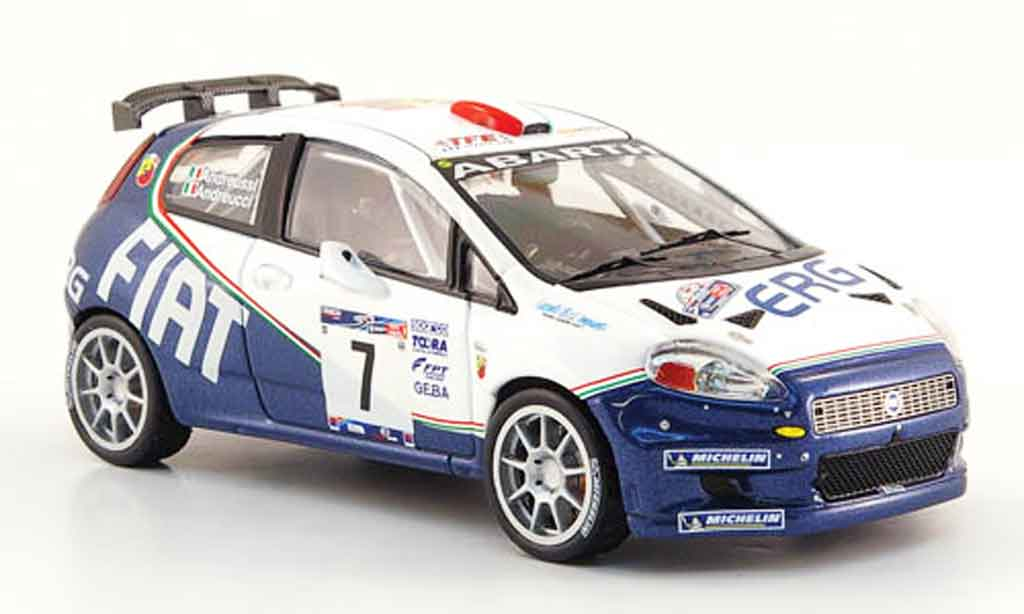fiat punto miniature s 2000 no 7 sieger rallye mille miglia 2006 ixo 1 43 voiture. Black Bedroom Furniture Sets. Home Design Ideas