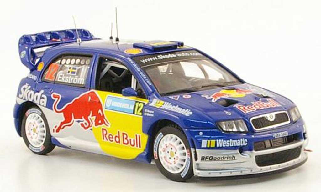 Skoda Fabia WRC 1/43 IXO No.12 Rally Schweden 2006 miniature