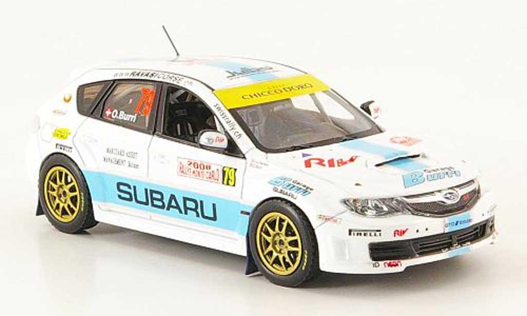 Subaru Impreza WRC 1/43 IXO STI No.79 Rally Monte Carlo 2008 miniature