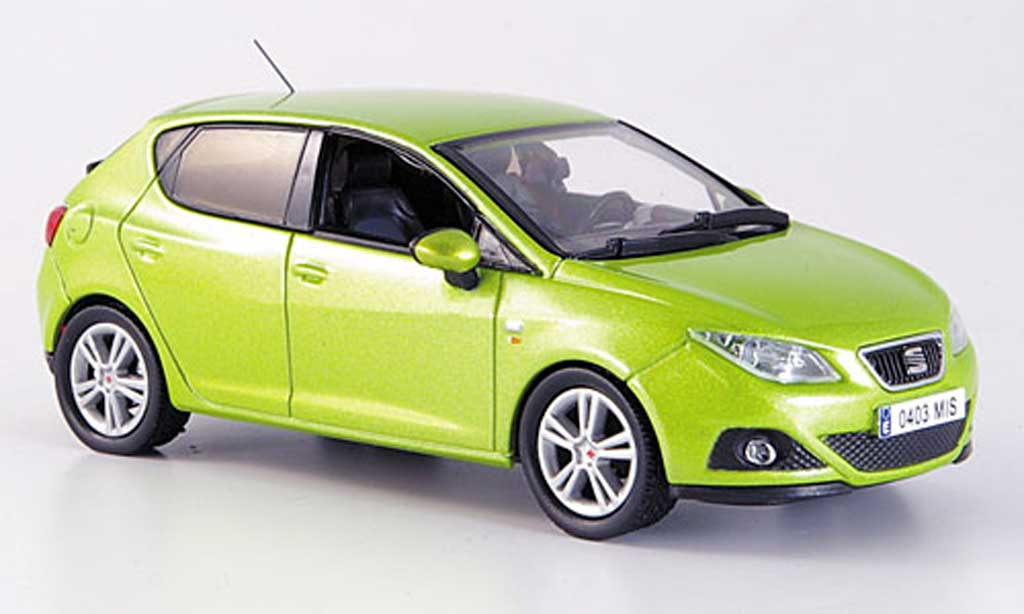 seat ibiza clair green 5 portes 2008 j collection diecast. Black Bedroom Furniture Sets. Home Design Ideas
