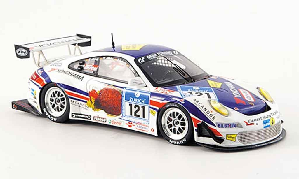 Porsche 997 GT3 CUP 1/43 Minichamps GT3 Cup Team Schavecz 24 Std. Nurburgring miniature