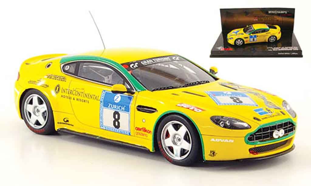 Aston Martin V8 Vantage 1/43 Minichamps n24 no.8 team mathai 24h nurburgring 2008 miniature