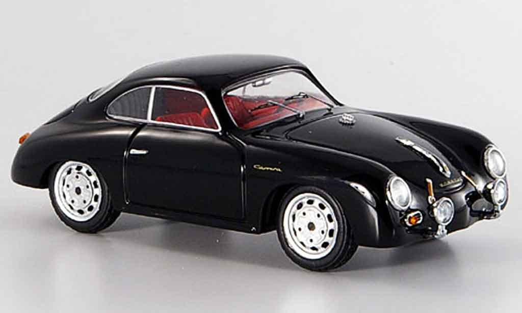 Porsche 356 A Carrera Gt Black Schuco Diecast Model Car 1