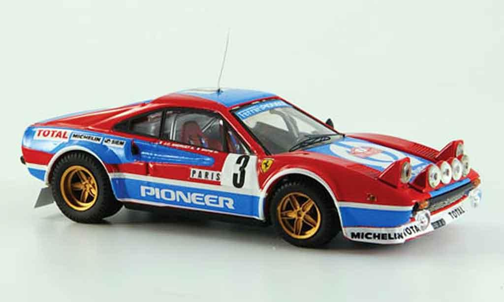 Ferrari 308 GTB 1/43 Best no.3 monte carlo 1982 miniature