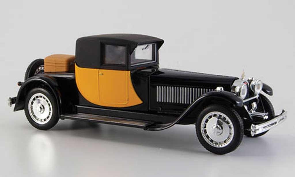 Bugatti Royale 1/43 Rio Coupe Napoleon jaune-noire 1929 miniature
