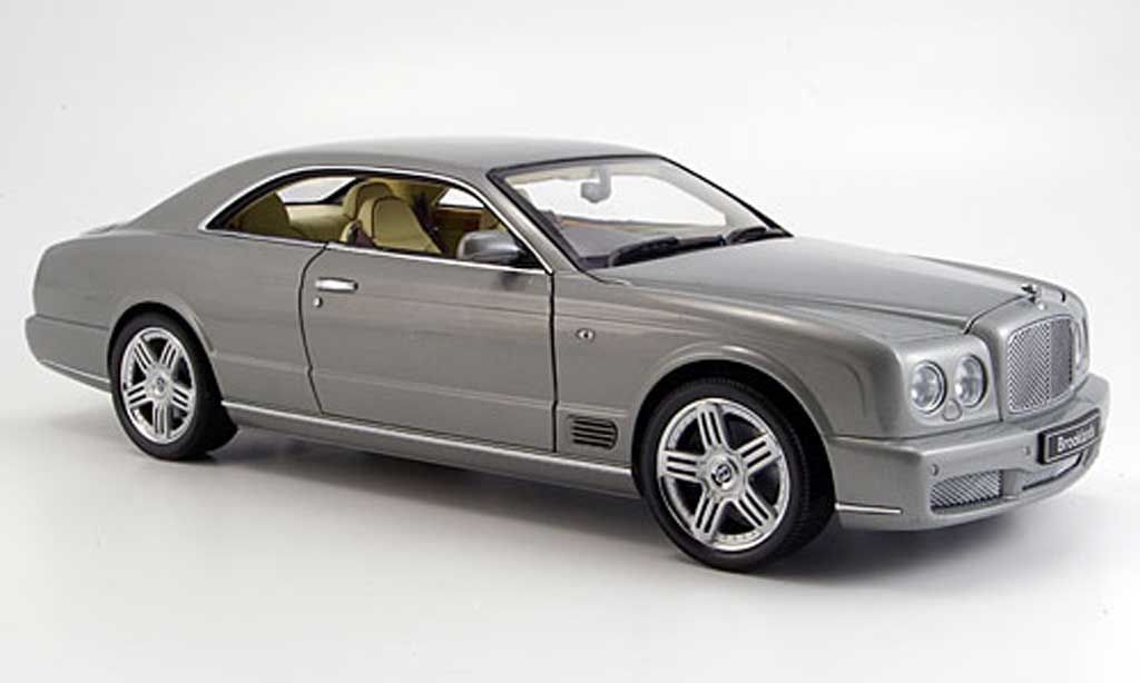 Bentley Brooklands 1/18 Minichamps grise 2007 miniature