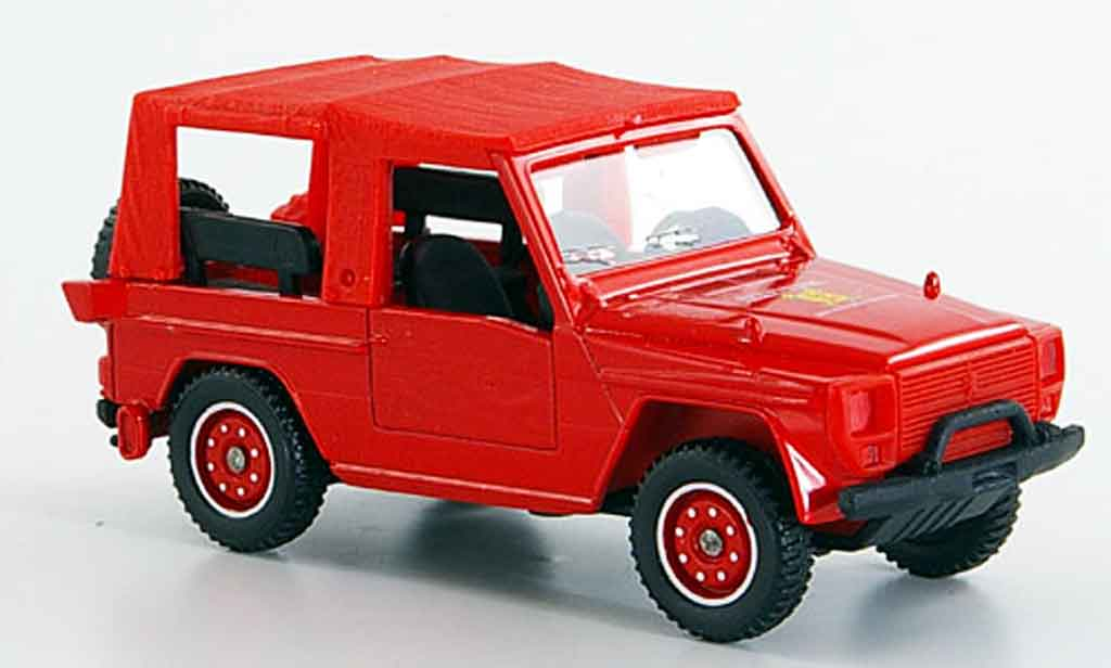 Peugeot P4 1/43 Solido gelandewagen pompier 1981 diecast