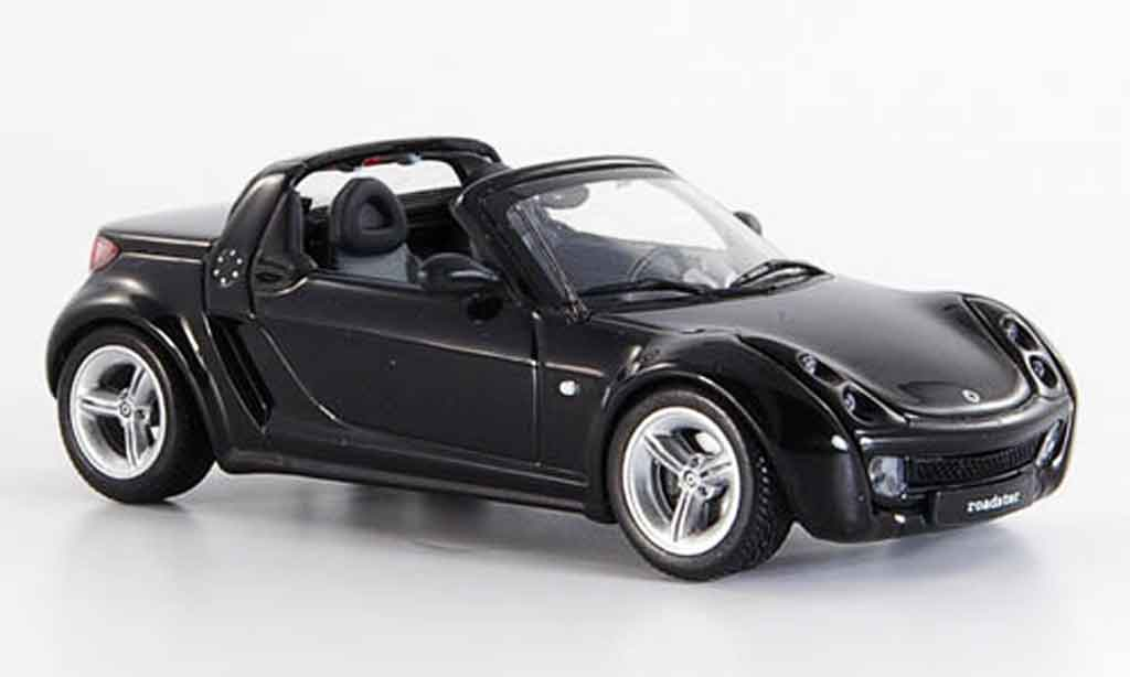 smart roadster coupe miniature noire 2003 minichamps 1 43 voiture. Black Bedroom Furniture Sets. Home Design Ideas