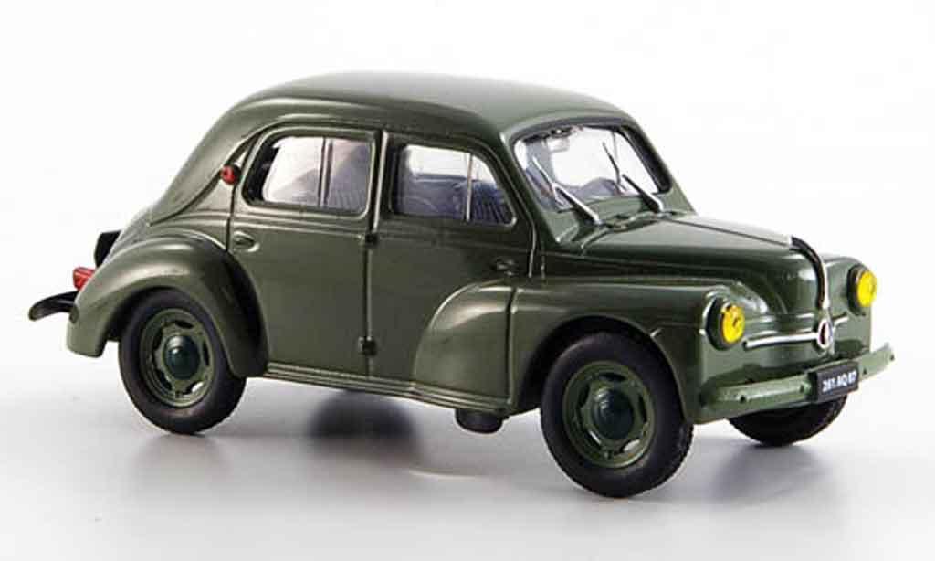 Renault 4CV 1/43 Eligor affaires 1954 miniature