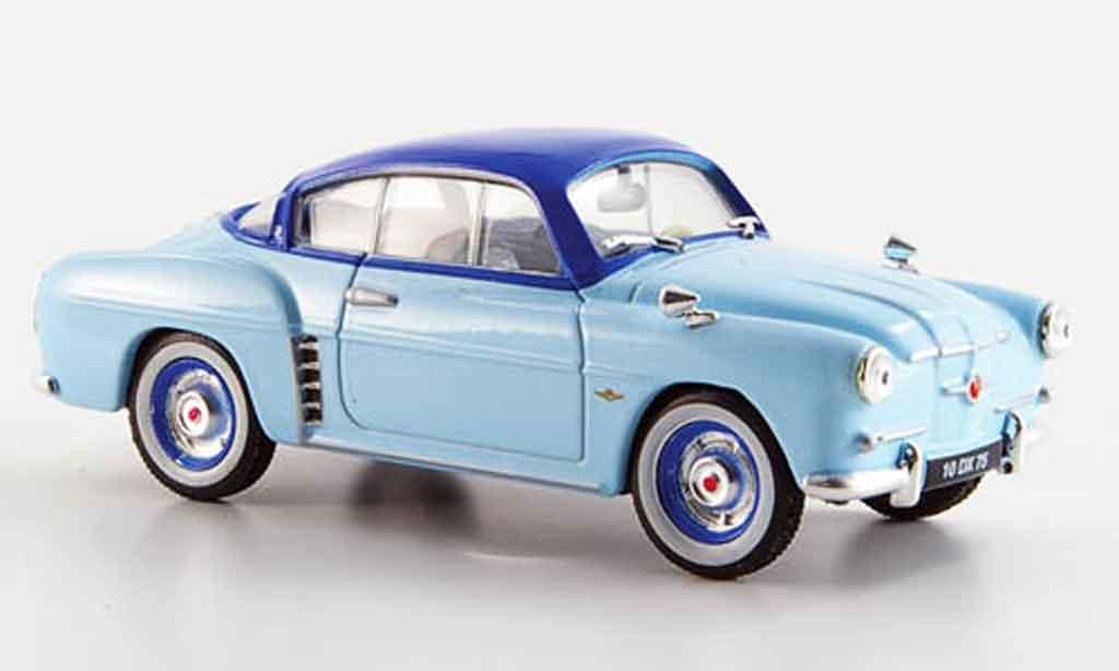 Renault 4CV 1/43 Eligor coupe bleu 1956 miniature
