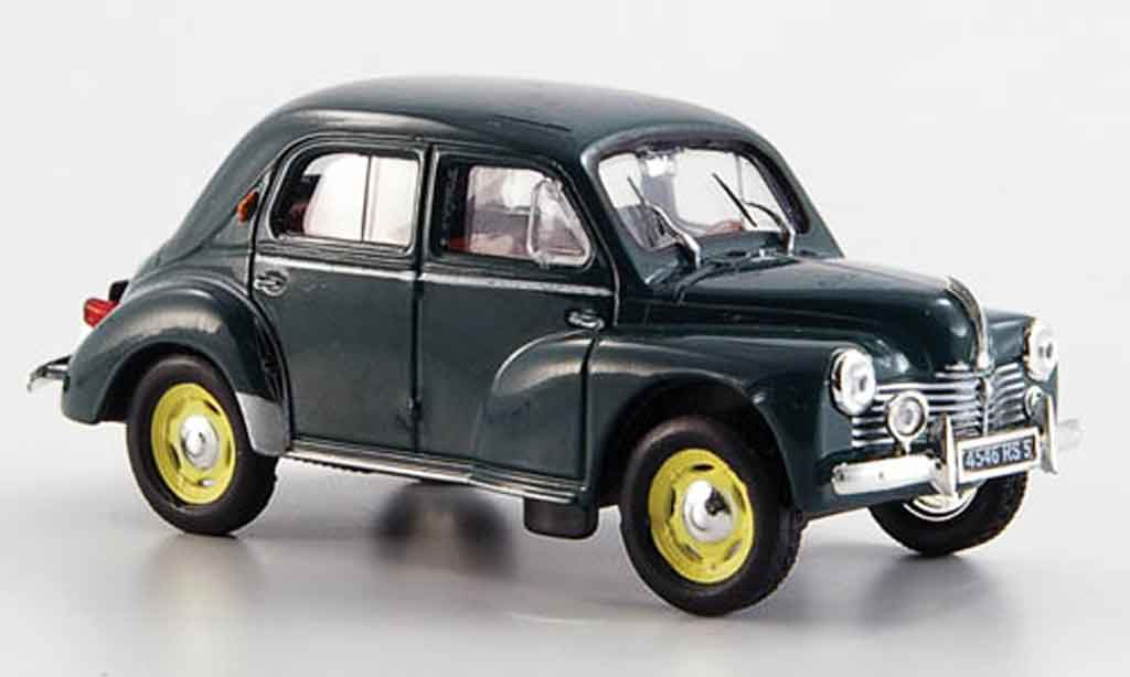 Renault 4CV 1/43 Eligor grand luxe grun 1950 miniature