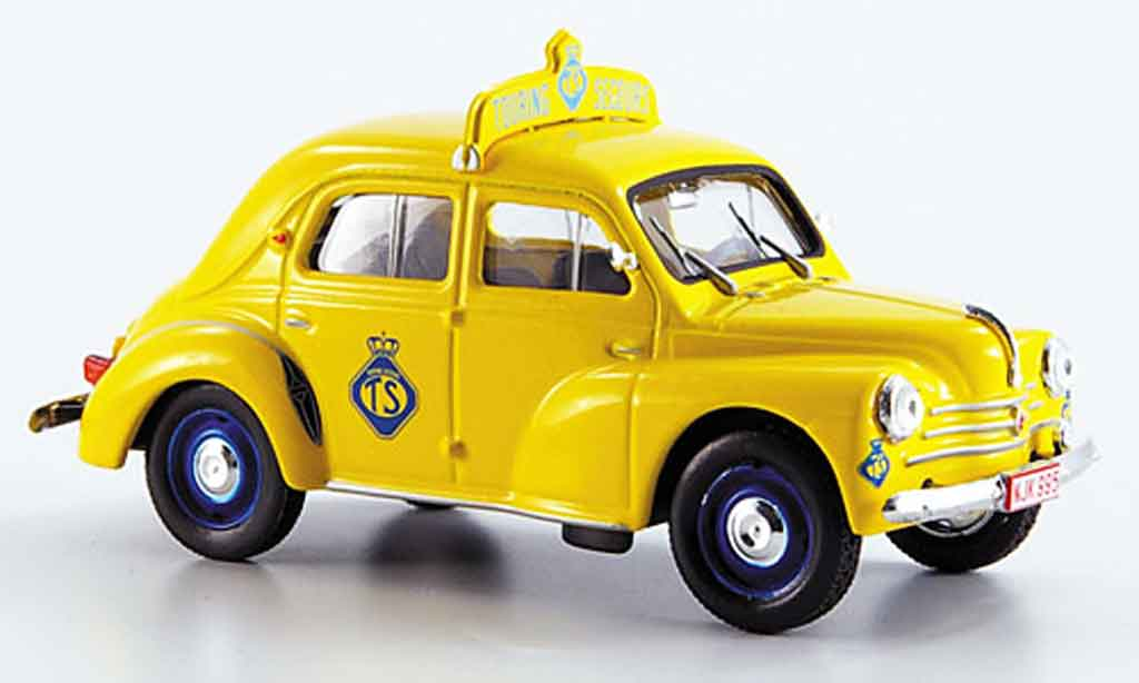 Renault 4CV 1/43 Eligor touring secours belgien 1958 miniature