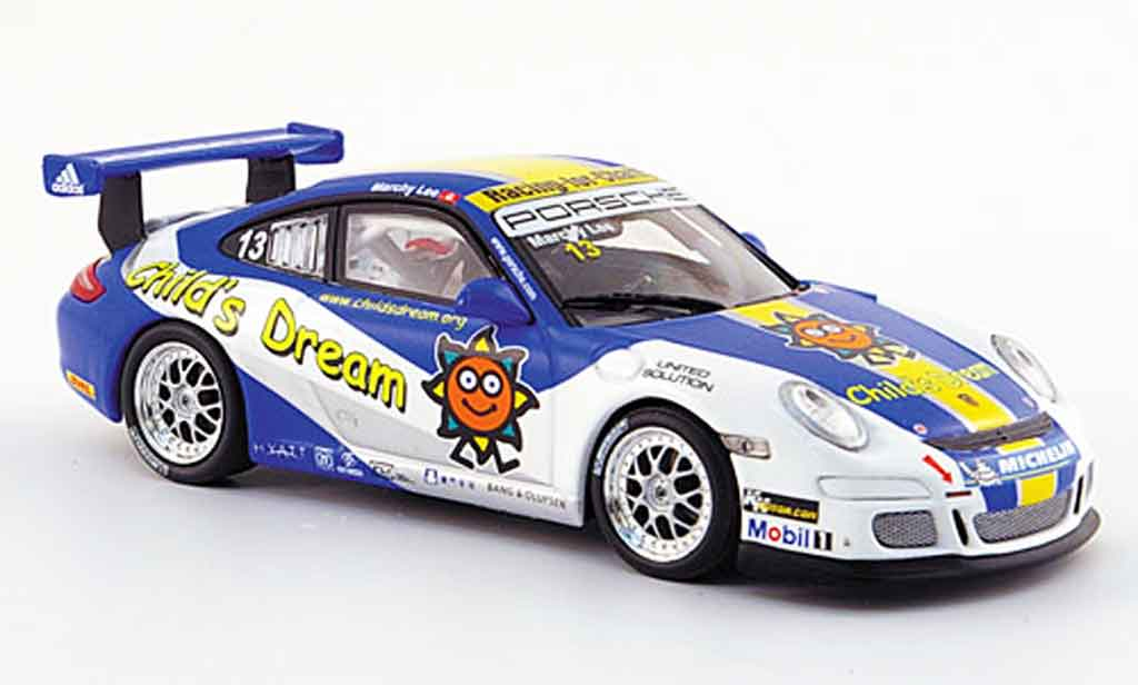 Porsche 997 GT3 Cup 2007 1/43 Minichamps Lee miniature