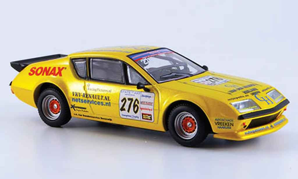 Alpine A310 V6 1/43 Eligor no.276 eq. jaronn lawson 2006 miniature
