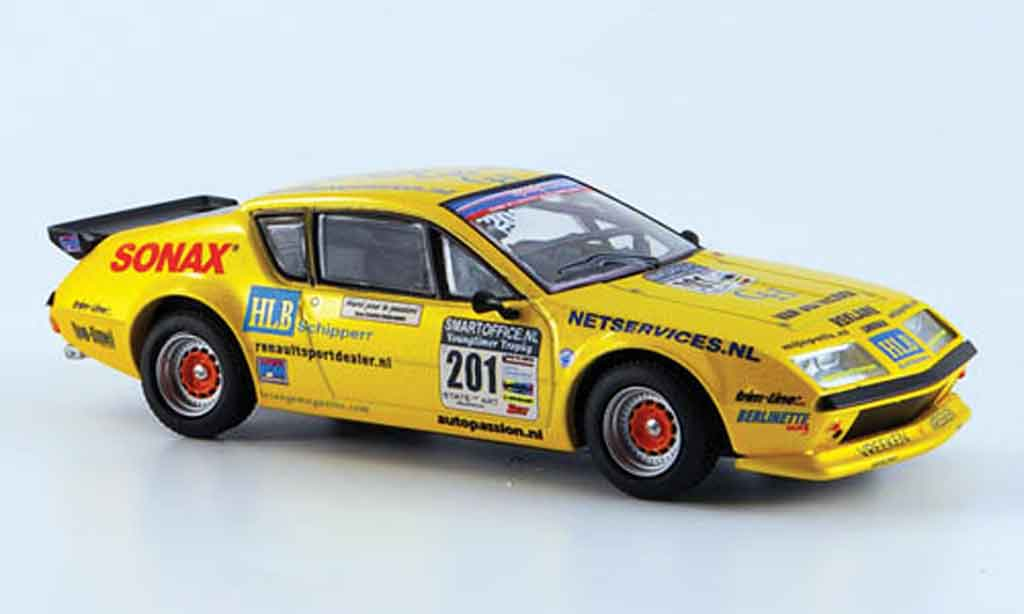 Alpine A310 V6 1/43 Eligor no.201 eq. jaronn lawson 2007 miniature